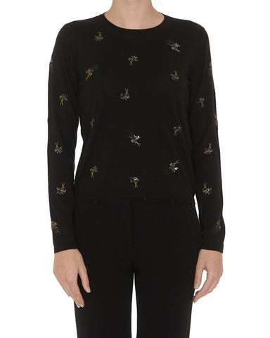 Max Mara Studio Sequinned Sweater