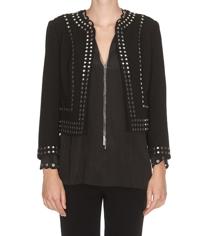 Michael Michael Kors Studded Open Jacket