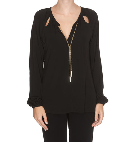 Michael Michael Kors Slim-Fit Chained Jumper