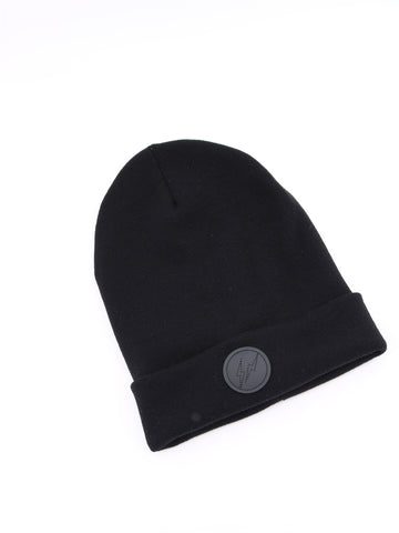 Moncler Genius Fragment Leather Patch Beanie