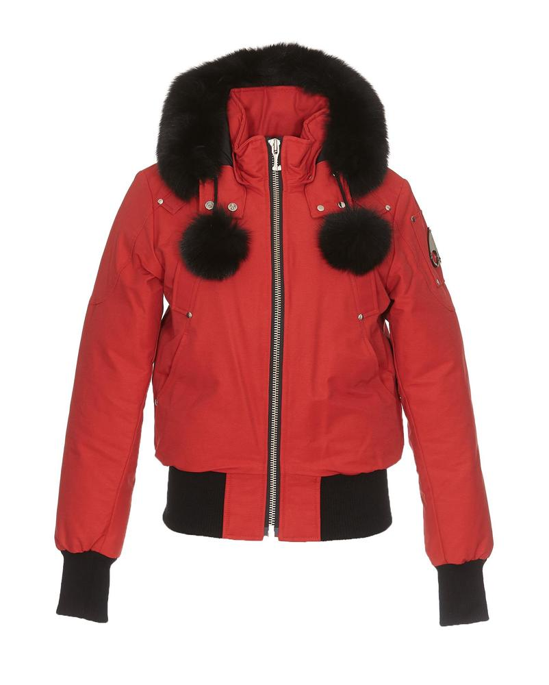 Moose Knuckles MOOSE KNUCKLES HOODED ZIPPED JACKET