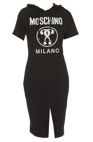 Moschino Short Sleeve Sweater Dress