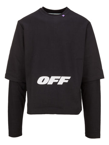 Off-White Double Layer Sweatshirt