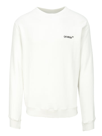 Off-White Embroidered Logo Sweatshirt