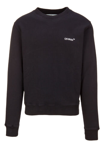 Off-White Embroidered Logo Sweater