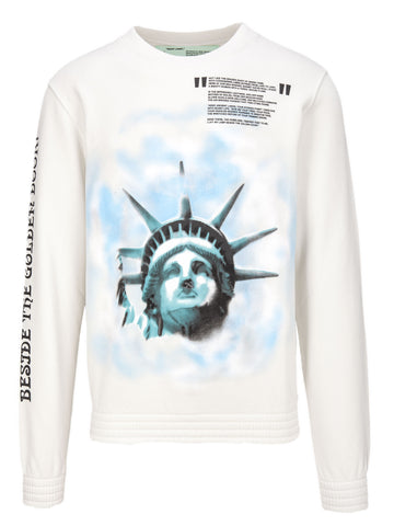 Off-White Statue Of Liberty Sweatershirt