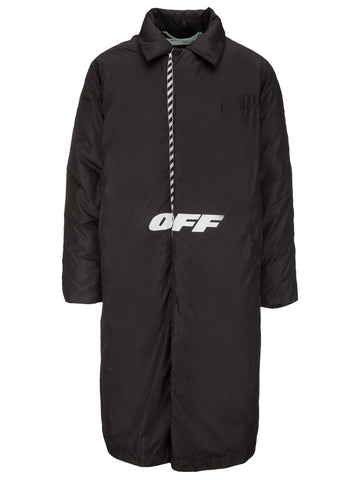 Off-White Reversible Padded Coat