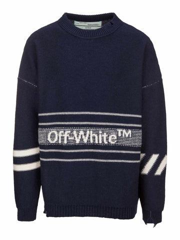 Off-White Logo Sweater