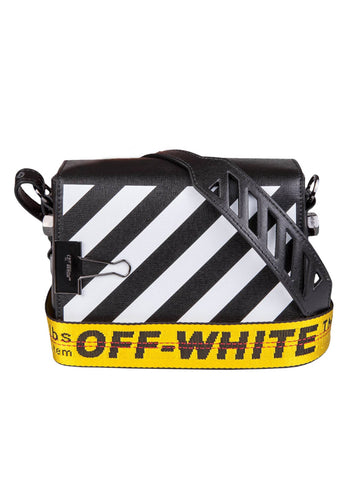 Off-White Striped Shoulder bag