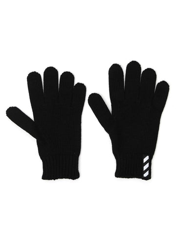 Off-White Diag Stripe Detail Gloves