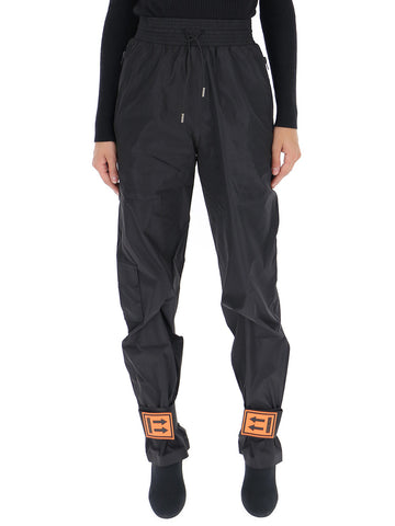 Off-White Ankle Patch Oversized Trousers