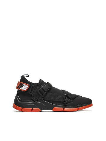 Prada Buckled Sneakers