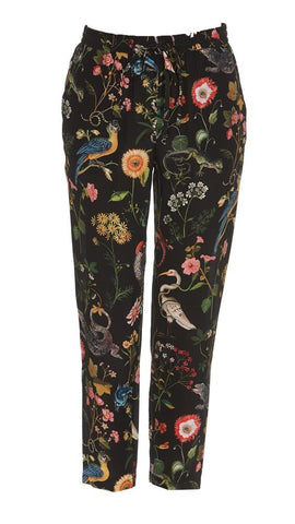 Red Valentino Floral Pants