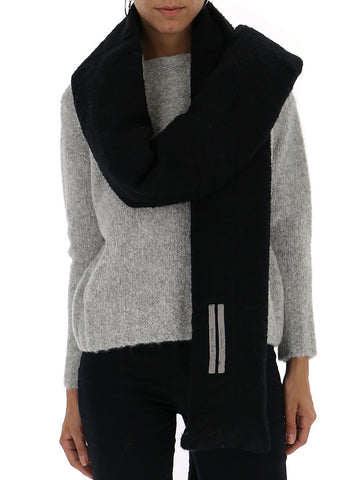 Rick Owens Long Knitted Scarf