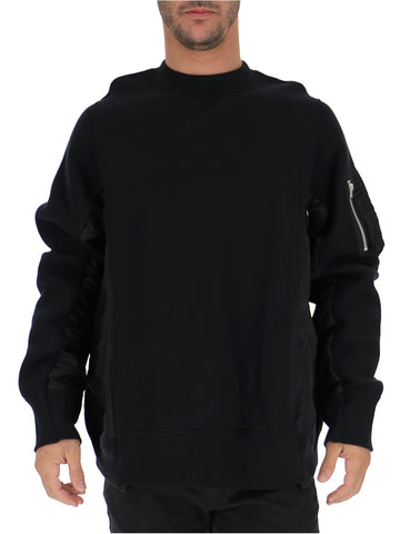 Sacai Contrast Pocket Sweater