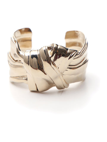 Saint Laurent Bow Cuff Bracelet