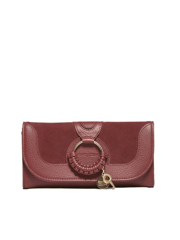 See By Chloè Interwoven Embellished Charm Wallet