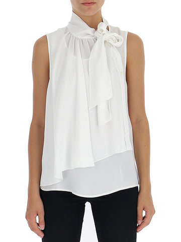 See By Chloé Bow Collar Blouse