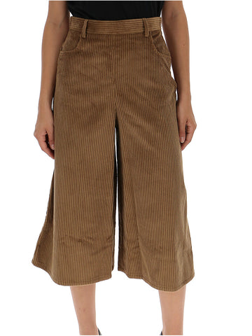 See By Chloé Corduroy Cropped Trousers