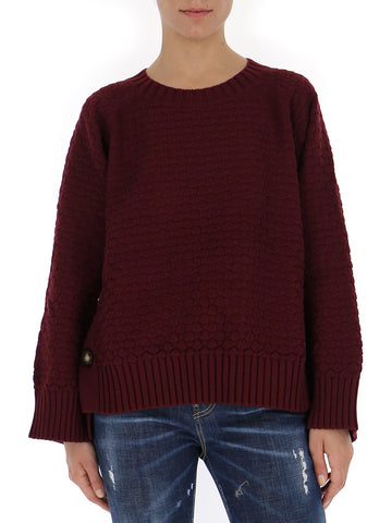 See By Chloé Side Button Pullover