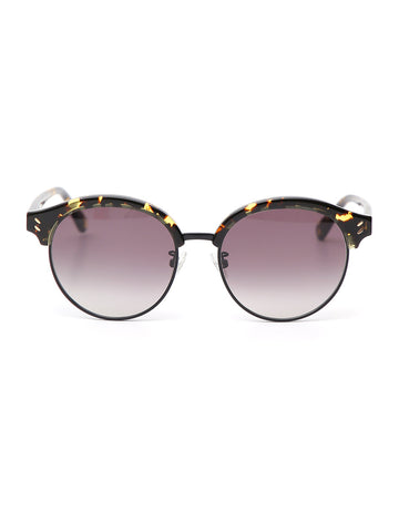 Stella McCartney Eyewear Round Tortoiseshell Effect Sunglasses