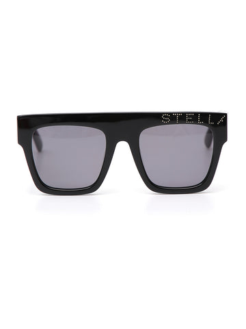 Stella McCartney Logo Oversized Sunglasses