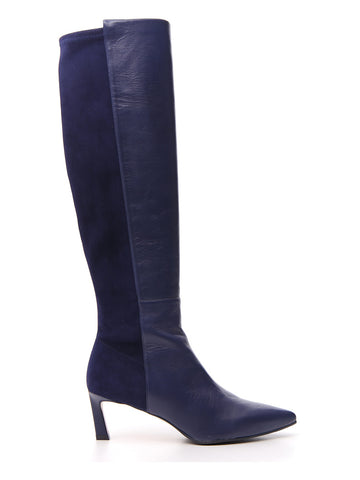Stuart Weitzman Pointed Toe Knee High Boots