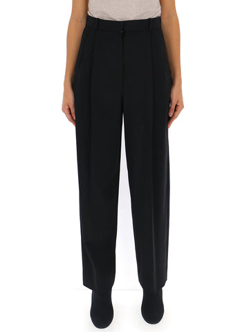 The Row Relaxed Fit High-Waisted Tailored Trousers