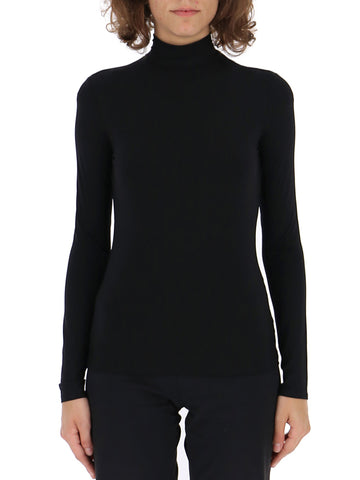 The Row Fitted Turtleneck Top