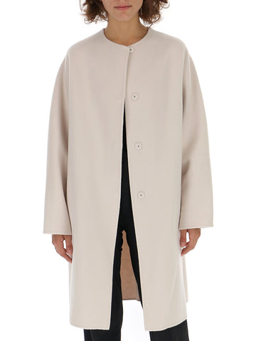 Theory Concealed Button Coat