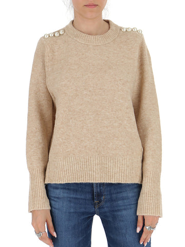 3.1 Phillip Lim Pearl Embellished Sweater