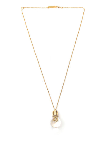 Ambush Light Bulb Pendant Necklace