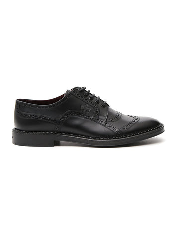 Dolce & Gabbana Brogue Lace Up Derby Shoes