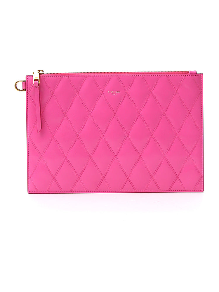 Givenchy Clutch GIVENCHY GV3 QUILTED CLUTCH BAG