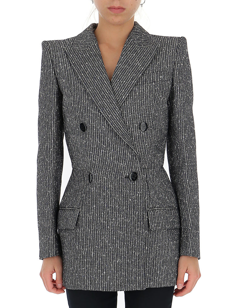 Givenchy Blazers GIVENCHY STRIPED FITTED BLAZER