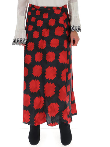 Marni Graphic Printed Skirt