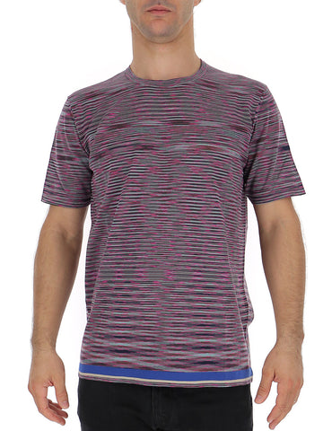 Missoni Contrasting Stripes Knitted T-Shirt