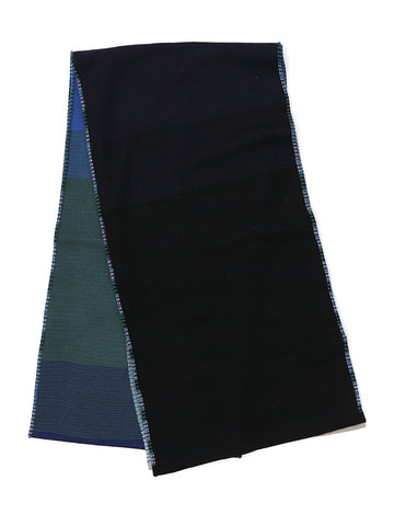 Missoni Striped Contrast Panel Scarf
