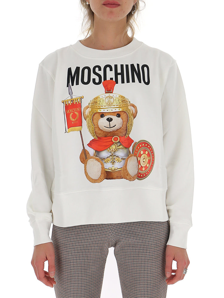 Moschino T-shirts MOSCHINO TEDDY GLADIATORE SWEATSHIRT