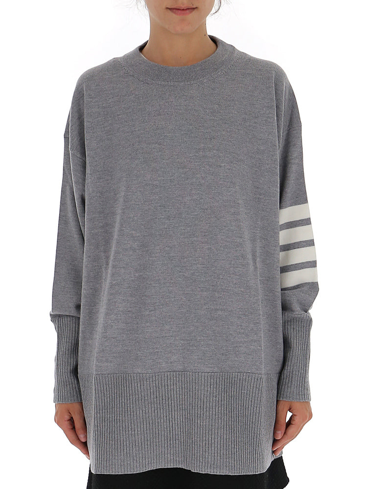 Thom Browne 4-Bar Oversize Sweater