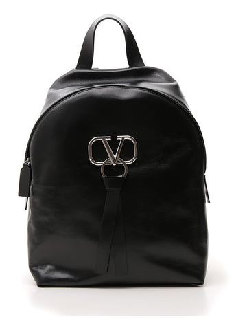 Valentino V Ring Zipped Backpack
