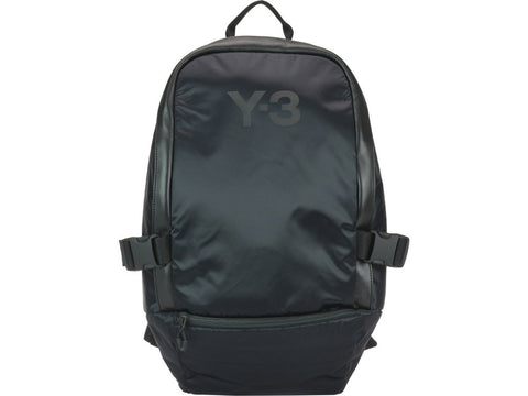 Y-3 Zipped Logo Backpack