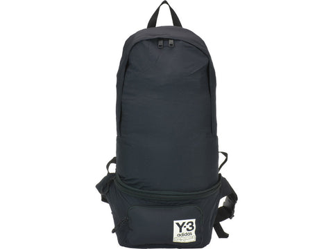 Y-3 Logo Patch Foldable Backpack