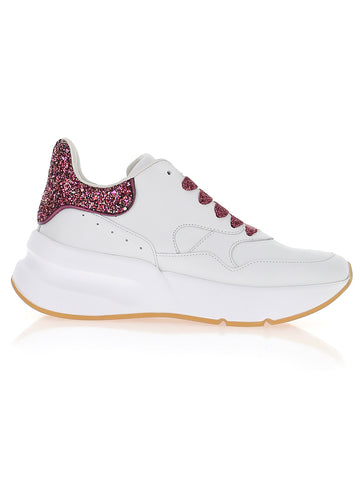 Alexander McQueen Glittered Low Top Sneakers