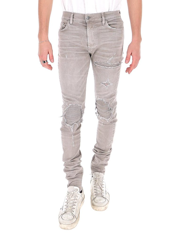 Amiri Jeans AMIRI DISTRESSED SLIM FIT JEANS