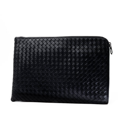 Bottega Veneta Woven Leather Clutch Bag
