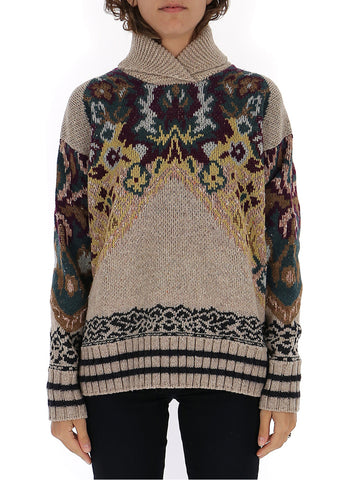 Etro Bohemian Embroidery Sweater