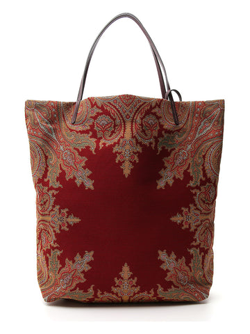 Etro Embroidery Pattern Tote Bag