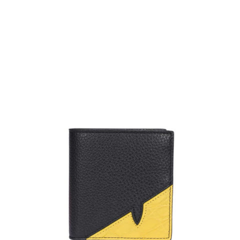 Fendi Diabolic Eye Bifold Wallet