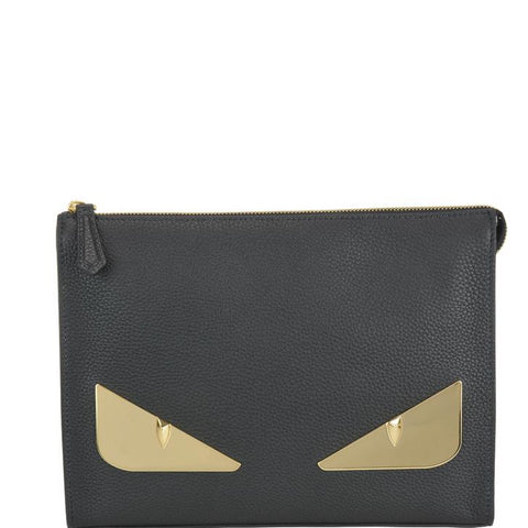 Fendi Bag Bugs Clutch Bag